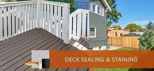 Deck Sealing and Staining in Beaverton Oregon by Sterling & Noble Painting
